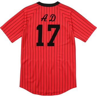Baseball Jersey Red 2