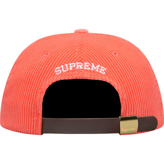 Carduroy S Logo 6 Panel Red 2