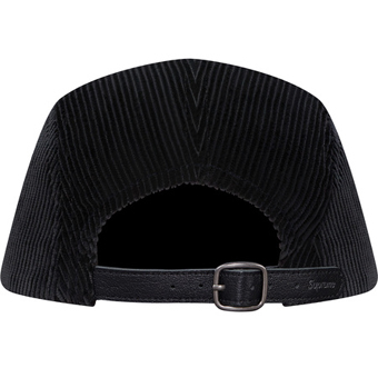 Coarduroy Supreme Cap Black 2