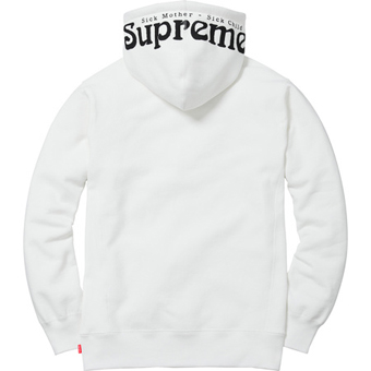 Sick Mother Hoodie white 2
