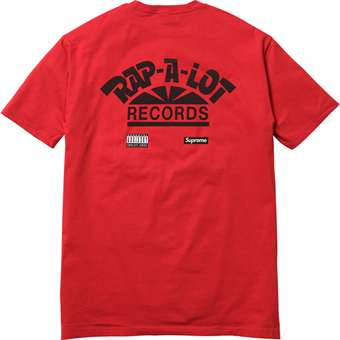 Sup Rap-A-Lot Geto Boys Tee Red 2