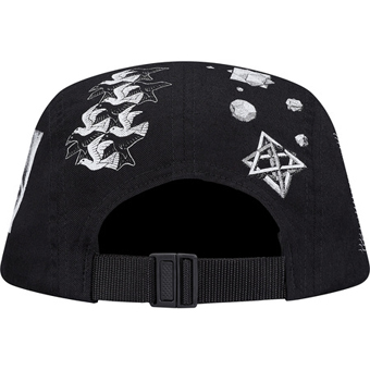 Escher Camp Cap black 3