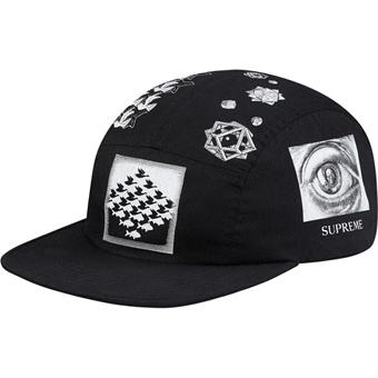Escher Camp Cap black