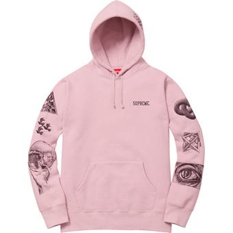 Escher Hoodie Pink