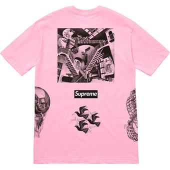 Escher Tee Pink 2