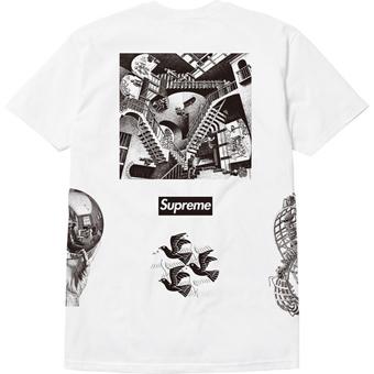 Escher Tee white 2