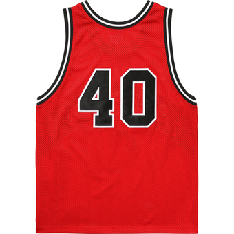 Curve basket ball Jersey red 2