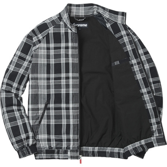 Madras Track Jacket Black 2